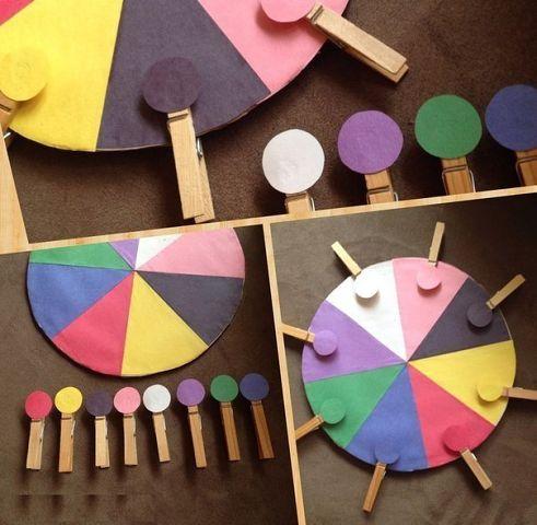 Как выучить цвета. Несколько идей для занятий. 5