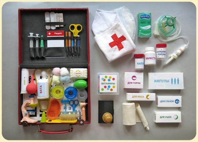 Инструменты для больницы своими руками