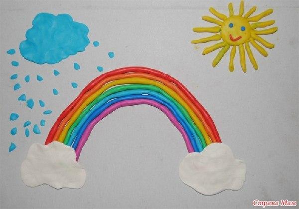 Поделки радуга для детей