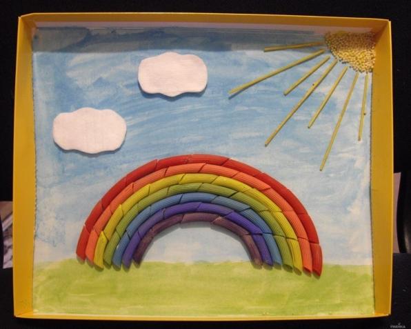 Как сделать поделку радугу 33