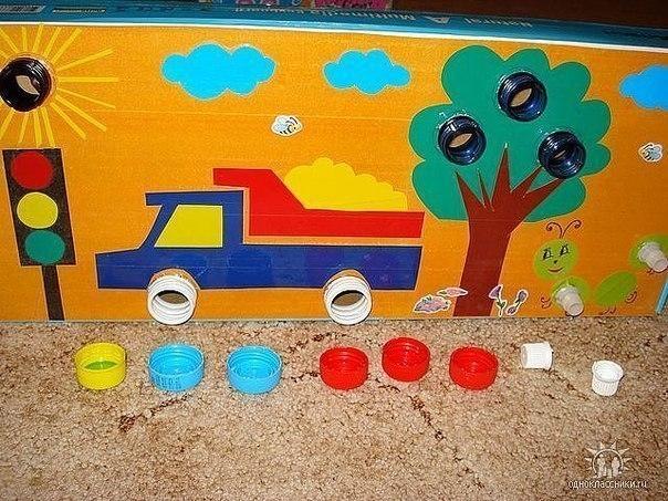 Развивающая игра своими руками для детей 5 лет