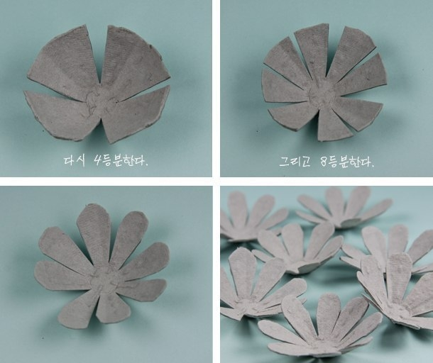 Поделки из яичных упаковок своими руками