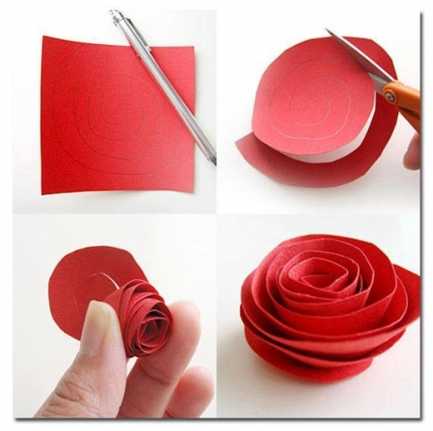 Как быстро сделать маленькие цветочки