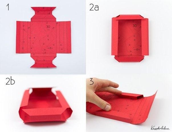 Рамки из бумаги без клея