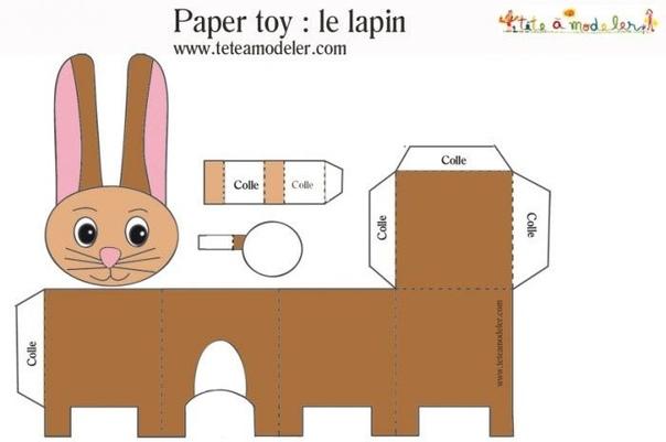 Животные из бумаги своими руками