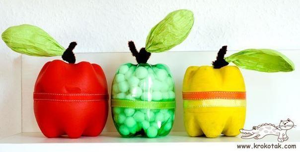 Поделки из бутылок для детского творчества