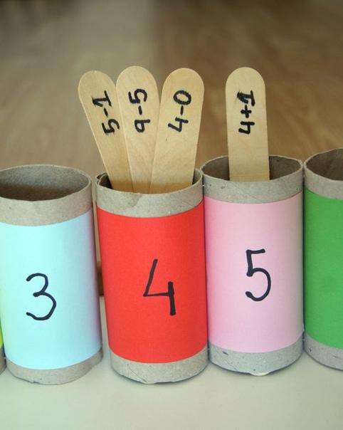 Пособия по математике для малышей