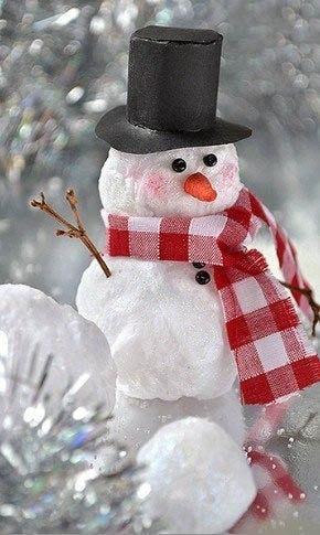 Снеговичок под ёлочку ⛄