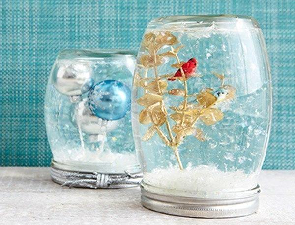 Волшебный «снежный шар» своими руками!