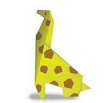Животные из бумаги в технике оригами
