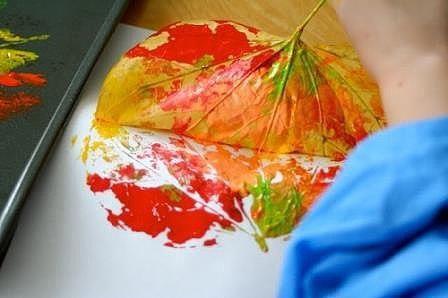 Яркие осенние отпечатки
