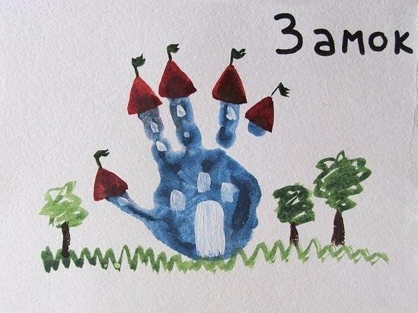 10 рисунков ладошкой