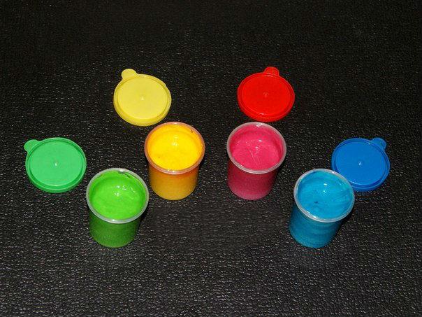 Пальчиковые краски своими руками за 10 минут