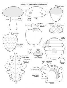 Идеи осенних гирлянд