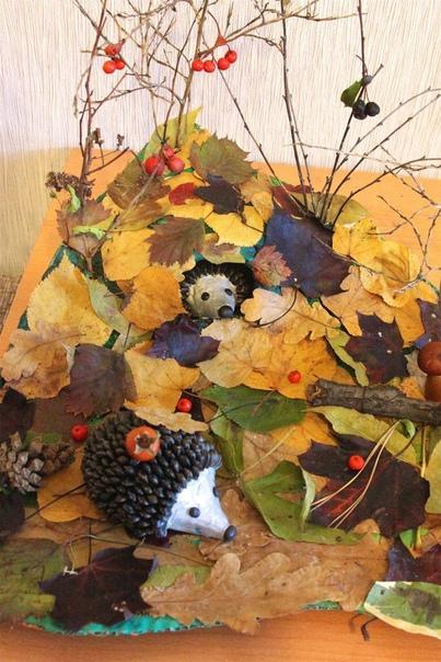 Осенняя поделка