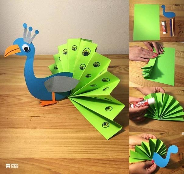 Творческие идеи из бумаги