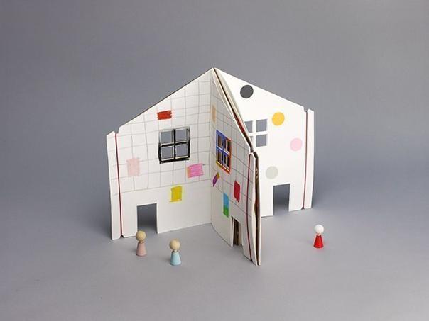 Тетрадка-домик для детских игр