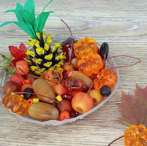 Осенние поделки. идеи осенних поделок из овощей