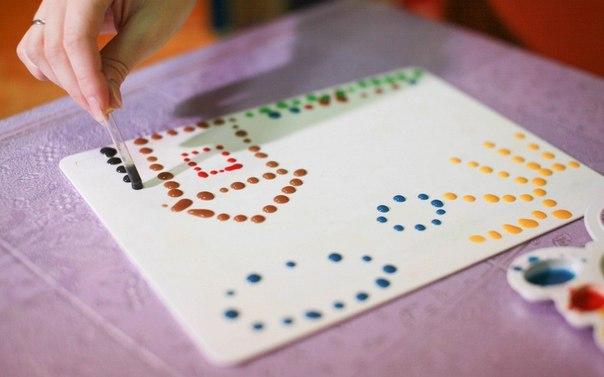 Каплетерапия - прекрасная подготовка руки к письму