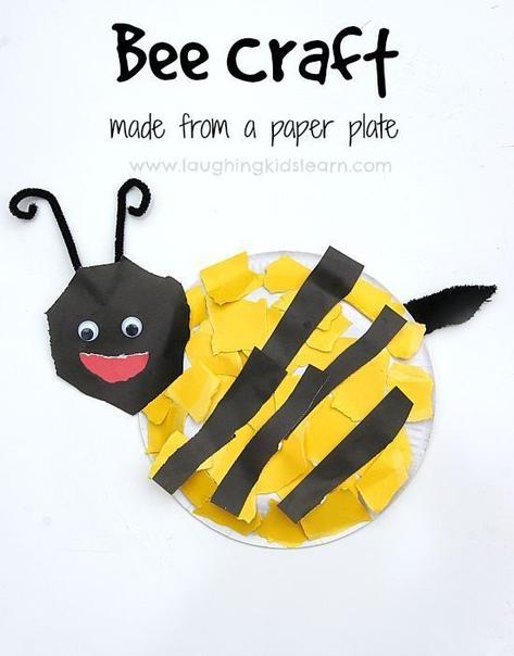"""Идеи для поделок на тему: """"насекомые""""."""