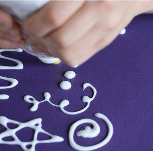 Рисуем акварелью на соли - красивые переливы красок!!!