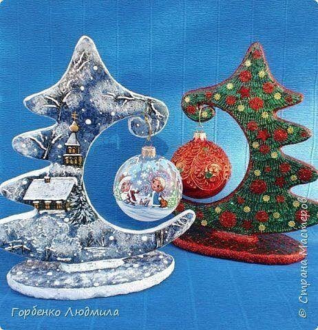 Оригинальная идея для новогоднего декора