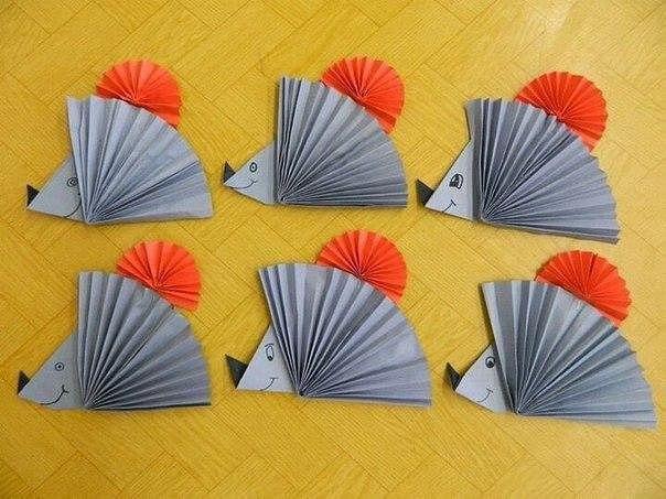 Идеи поделок из бумаги, сложенной гармошкой