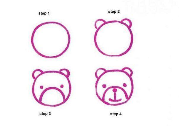 Самые простые уроки рисования с малышом