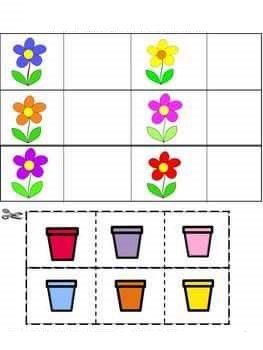 Дидактические игры на изучение цветов