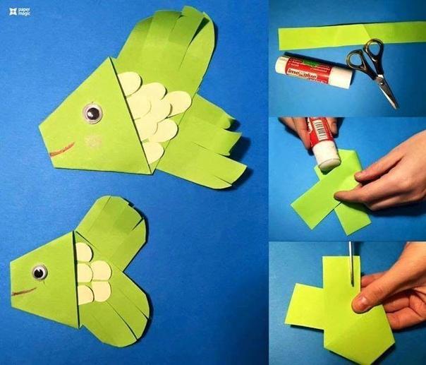 Идеи для поделок из бумаги