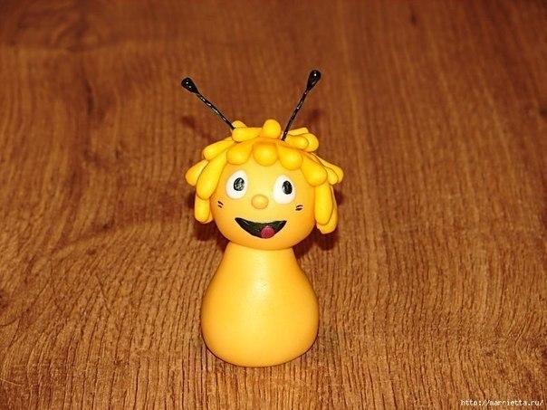 Лепим пчелку