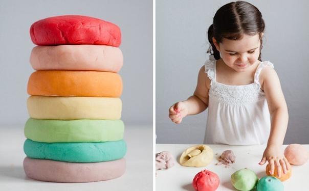 Как сделать безопасный пластилин для ребёнка своими руками