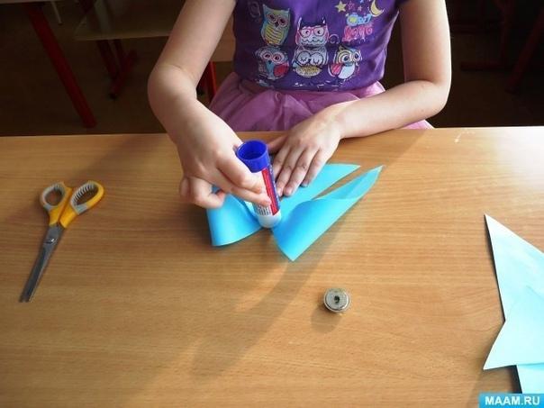 Бантики в технике оригами