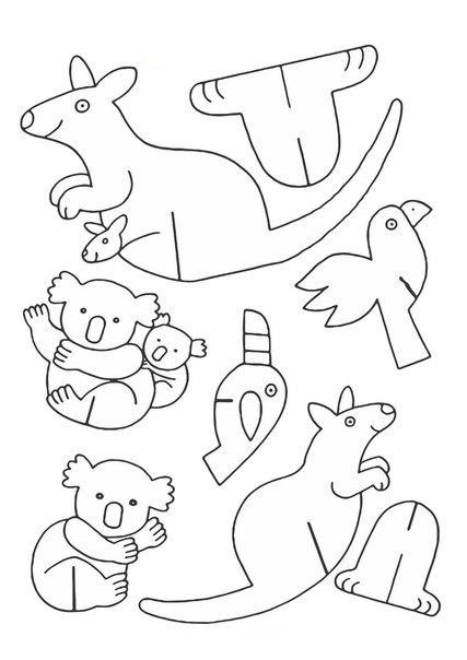 Веселый зоопарк из картона