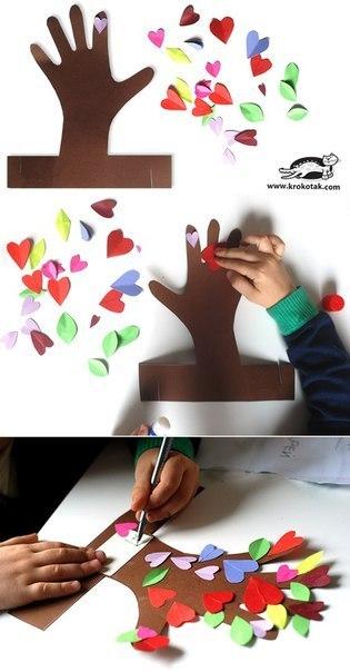 Творческое занятие для малышей