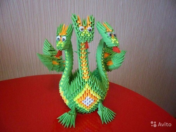 Поделки в технике оригами.