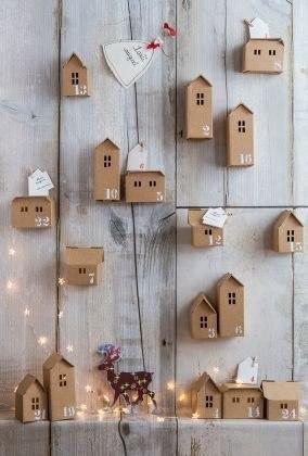 Бумажные домики. шаблоны