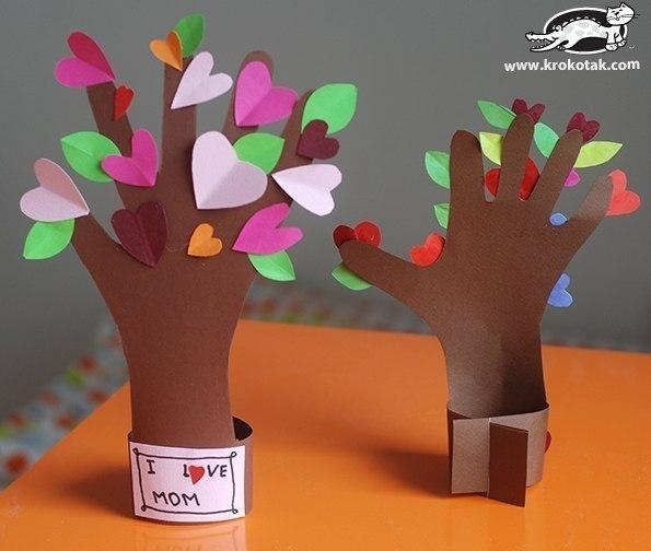 Дерево-ладошка