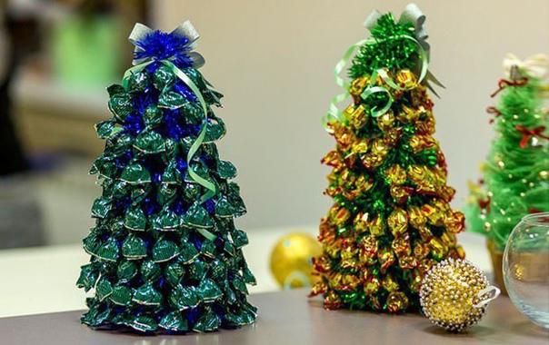 Новогодние елочки своими руками