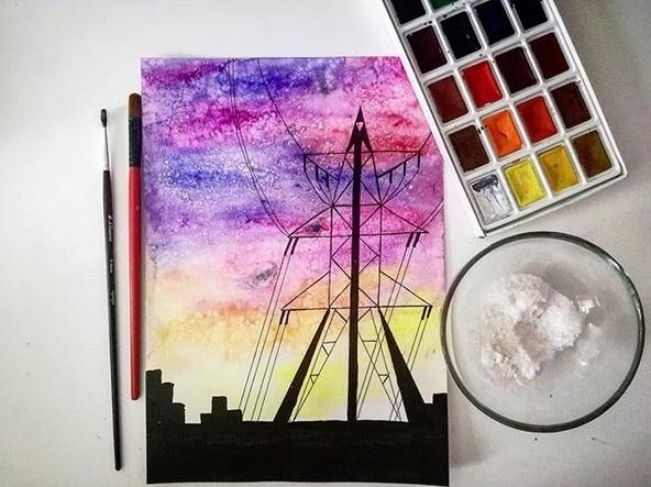 Нетрадиционные техники рисования.