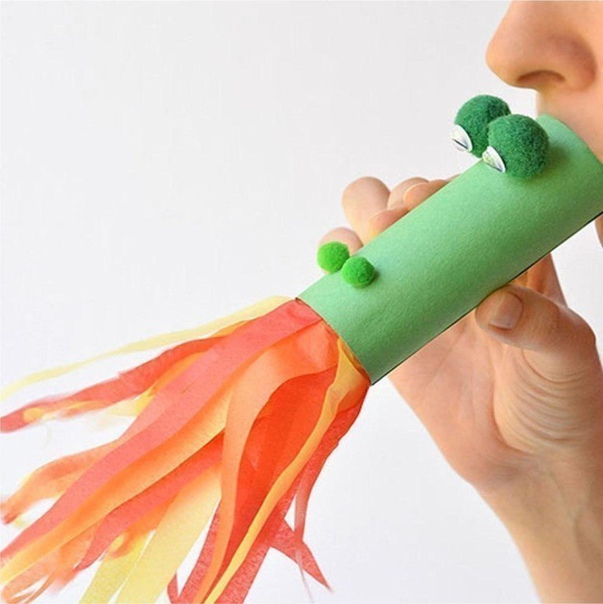 Дракончик для дыхательных упражнений