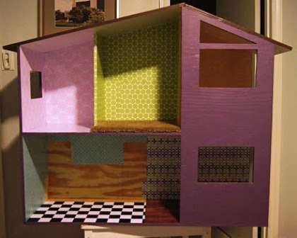 Кукольный домик из дерева своими руками