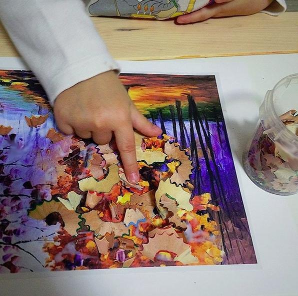 Осенние поделки для детей. учимся работать кисточкой и клеем. план работы: