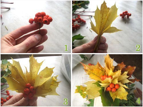 """Поделки """"золотая осень"""""""