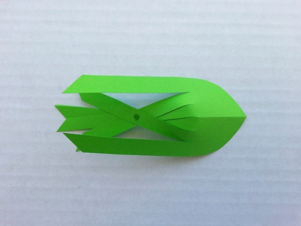 Бумажные рыбки