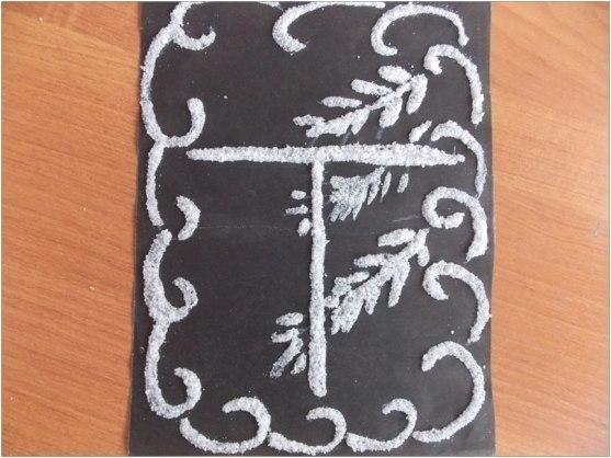 Рисуем картины солью