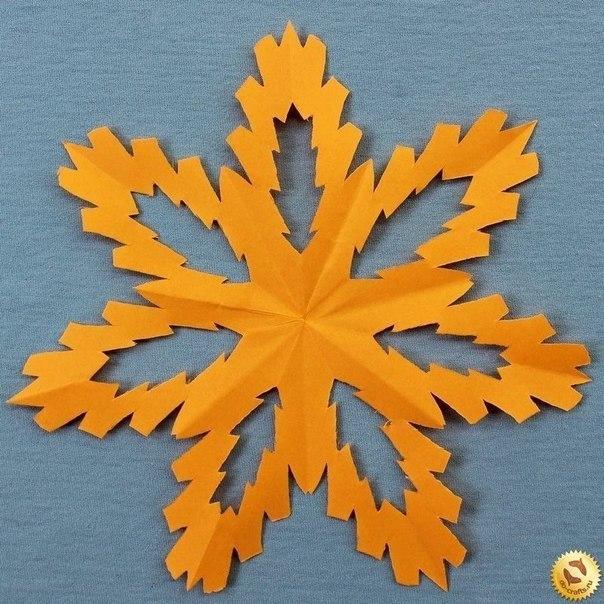 Схемы снежинок + как сложить бумагу для вырезания