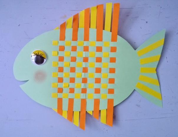 Плетеная рыбка