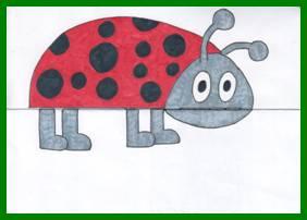Рисуем с детьми. рисунок с сюрпризом