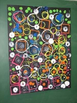 Картины из кругов